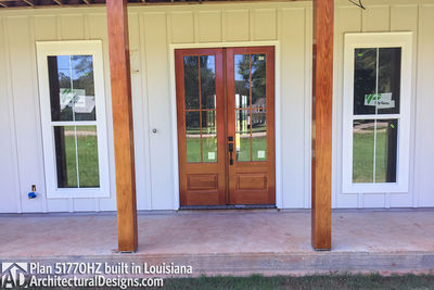 Exclusive House Plan 51770HZ comes to life in Louisiana - photo 003