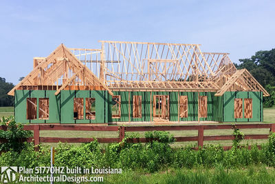 Exclusive House Plan 51770HZ comes to life in Louisiana - photo 023