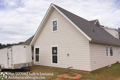 Exclusive House Plan 51770HZ comes to life in Louisiana - photo 005