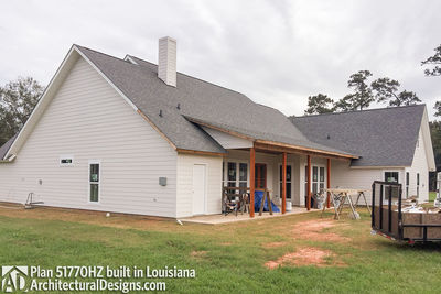 Exclusive House Plan 51770HZ comes to life in Louisiana - photo 004
