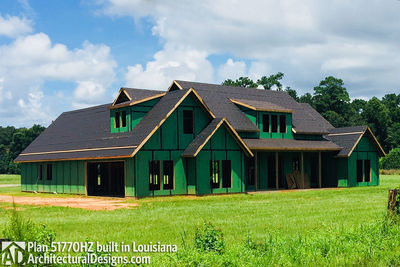 Exclusive House Plan 51770HZ comes to life in Louisiana - photo 021