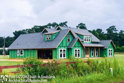 Exclusive House Plan 51770HZ comes to life in Louisiana - photo 020