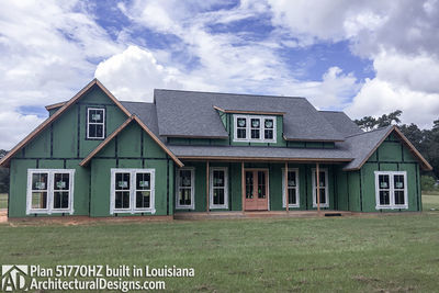 Exclusive House Plan 51770HZ comes to life in Louisiana - photo 019