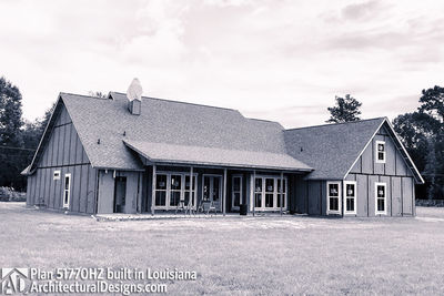 Exclusive House Plan 51770HZ comes to life in Louisiana - photo 022