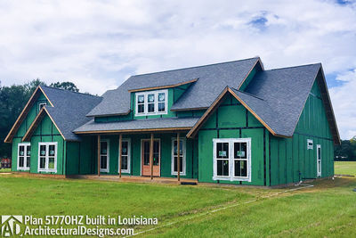 Exclusive House Plan 51770HZ comes to life in Louisiana - photo 018