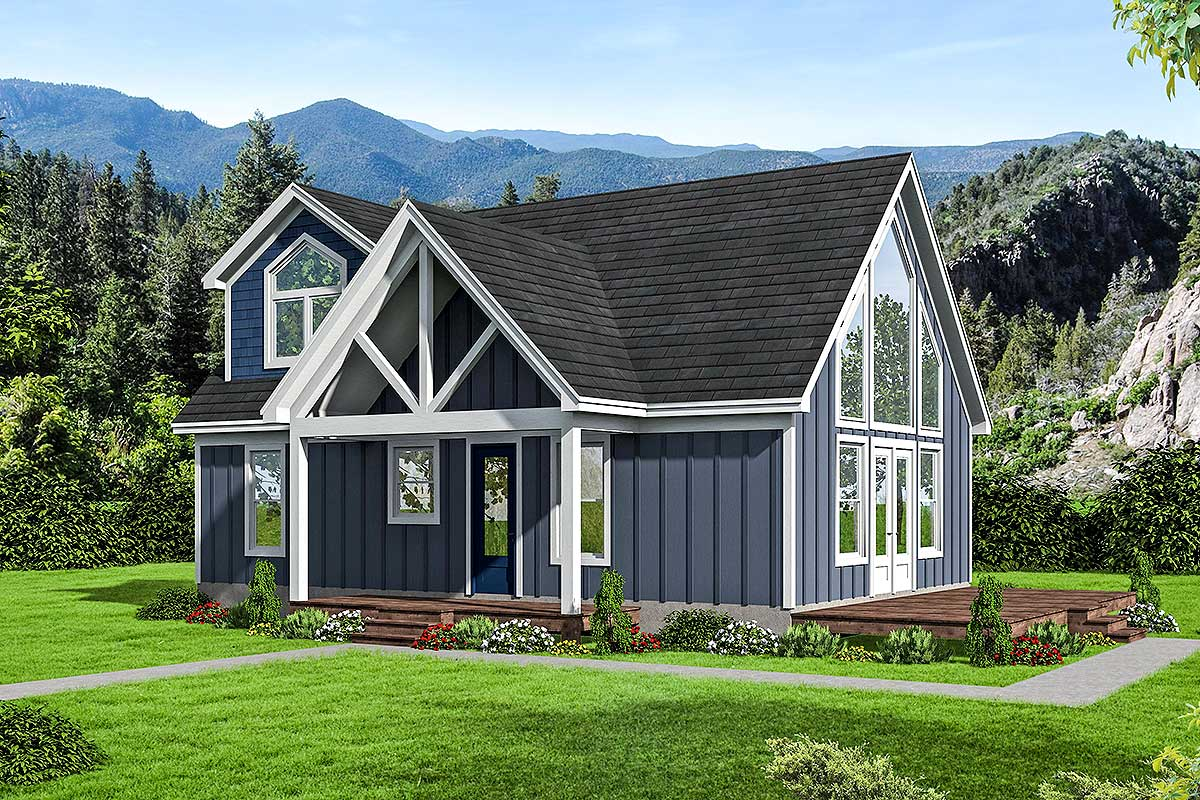For A View  Lot  68498VR Architectural Designs House  Plans