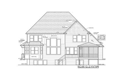 Modern Storybook Craftsman House Plan with 2-Story Great ...