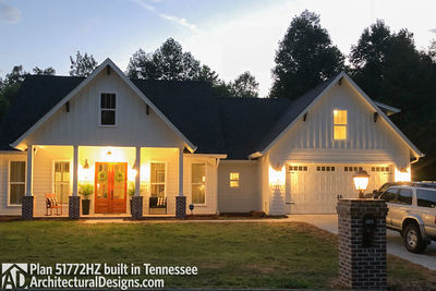 Exclusive House Plan 51772HZ comes to life in Tennessee - photo 006