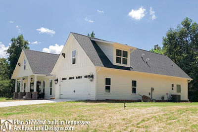 Exclusive House Plan 51772HZ comes to life in Tennessee - photo 004