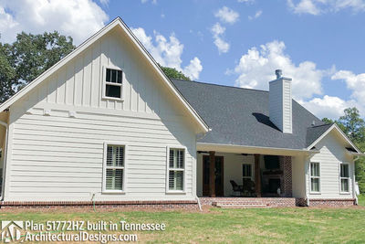 Exclusive House Plan 51772HZ comes to life in Tennessee - photo 012