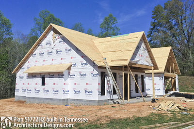 Exclusive House Plan 51772HZ comes to life in Tennessee - photo 043