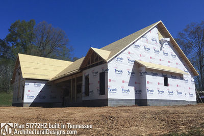 Exclusive House Plan 51772HZ comes to life in Tennessee - photo 044