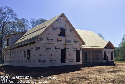 Exclusive House Plan 51772HZ comes to life in Tennessee - photo 045