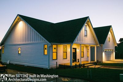 Exclusive House Plan 51772HZ comes to life in Washington - photo 002