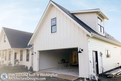 Exclusive House Plan 51772HZ comes to life in Washington - photo 030