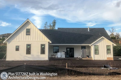Exclusive House Plan 51772HZ comes to life in Washington - photo 031