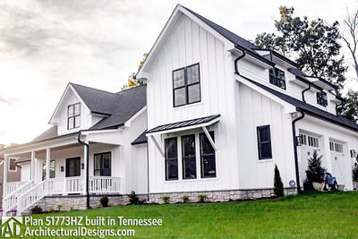 House Plan 51773HZ comes to life in Tennessee - photo 002