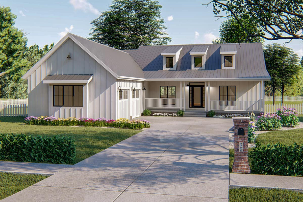 62714DJ 0 - View Small Modern House Plans With Garage Gif