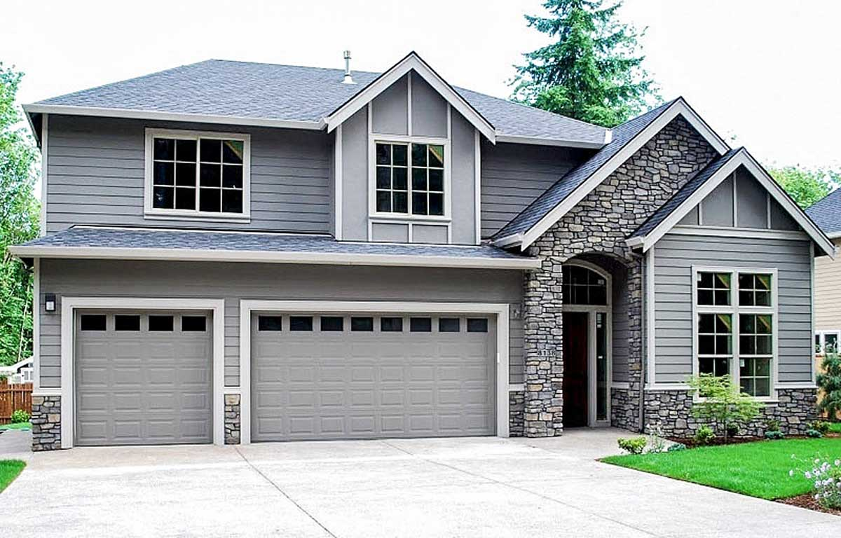 Craftsman-Inspired House Plan With Guest Suite Potential ...