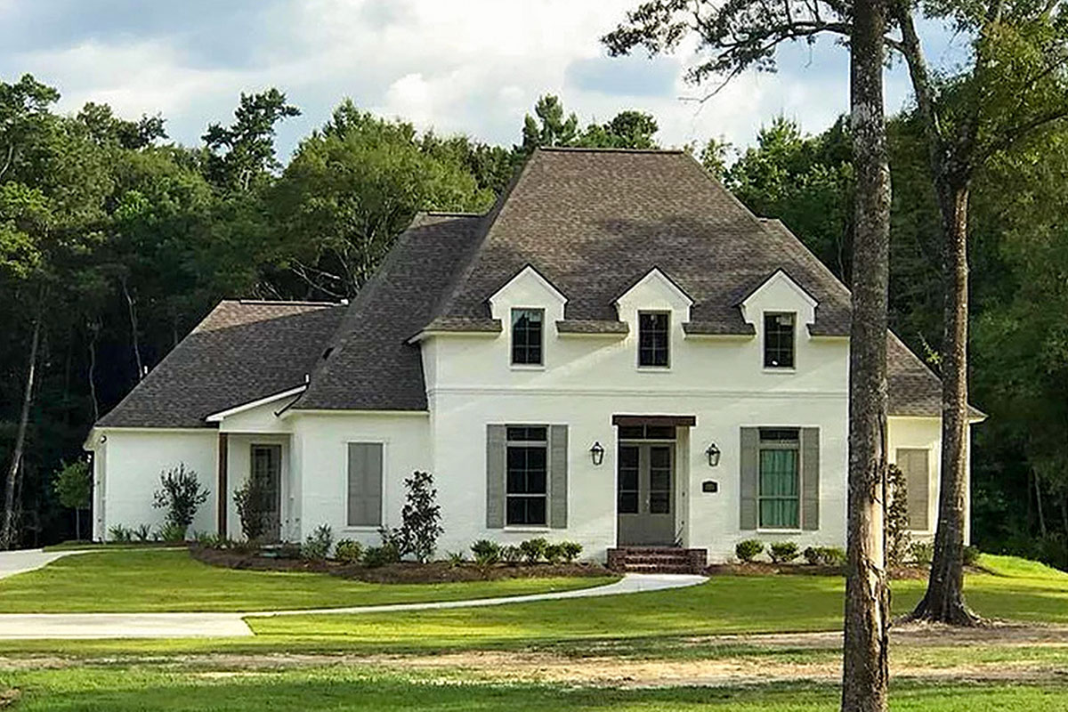 french country house designs charming french country house plan with open concept living space 56427sm architectural 4730