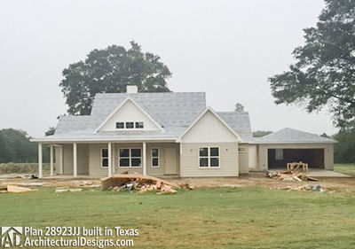 House Plan 28923JJ comes to life in Texas - photo 028