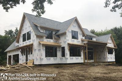 Modern Farmhouse Plan 14662RK comes to life in Minnesota - photo 023