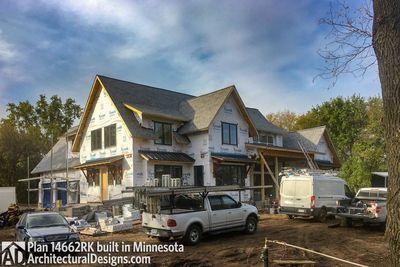 Modern Farmhouse Plan 14662RK comes to life in Minnesota - photo 002