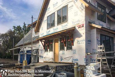 Modern Farmhouse Plan 14662RK comes to life in Minnesota - photo 003