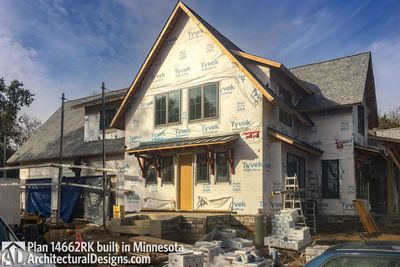 Modern Farmhouse Plan 14662RK comes to life in Minnesota - photo 004