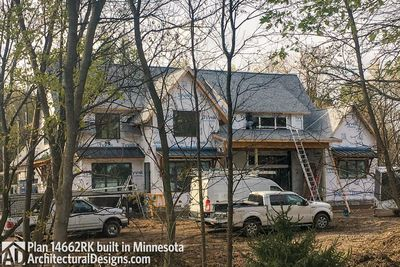 Modern Farmhouse Plan 14662RK comes to life in Minnesota - photo 019