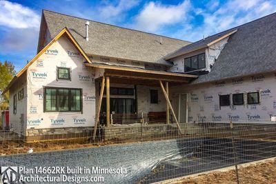 Modern Farmhouse Plan 14662RK comes to life in Minnesota - photo 005