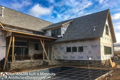 Modern Farmhouse Plan 14662RK comes to life in Minnesota - photo 006