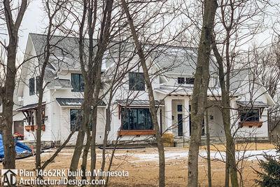 Modern Farmhouse Plan 14662RK comes to life in Minnesota - photo 001