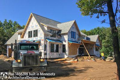 Modern Farmhouse Plan 14662RK comes to life in Minnesota - photo 020