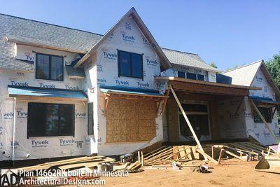 Modern Farmhouse Plan 14662RK comes to life in Minnesota - photo 021