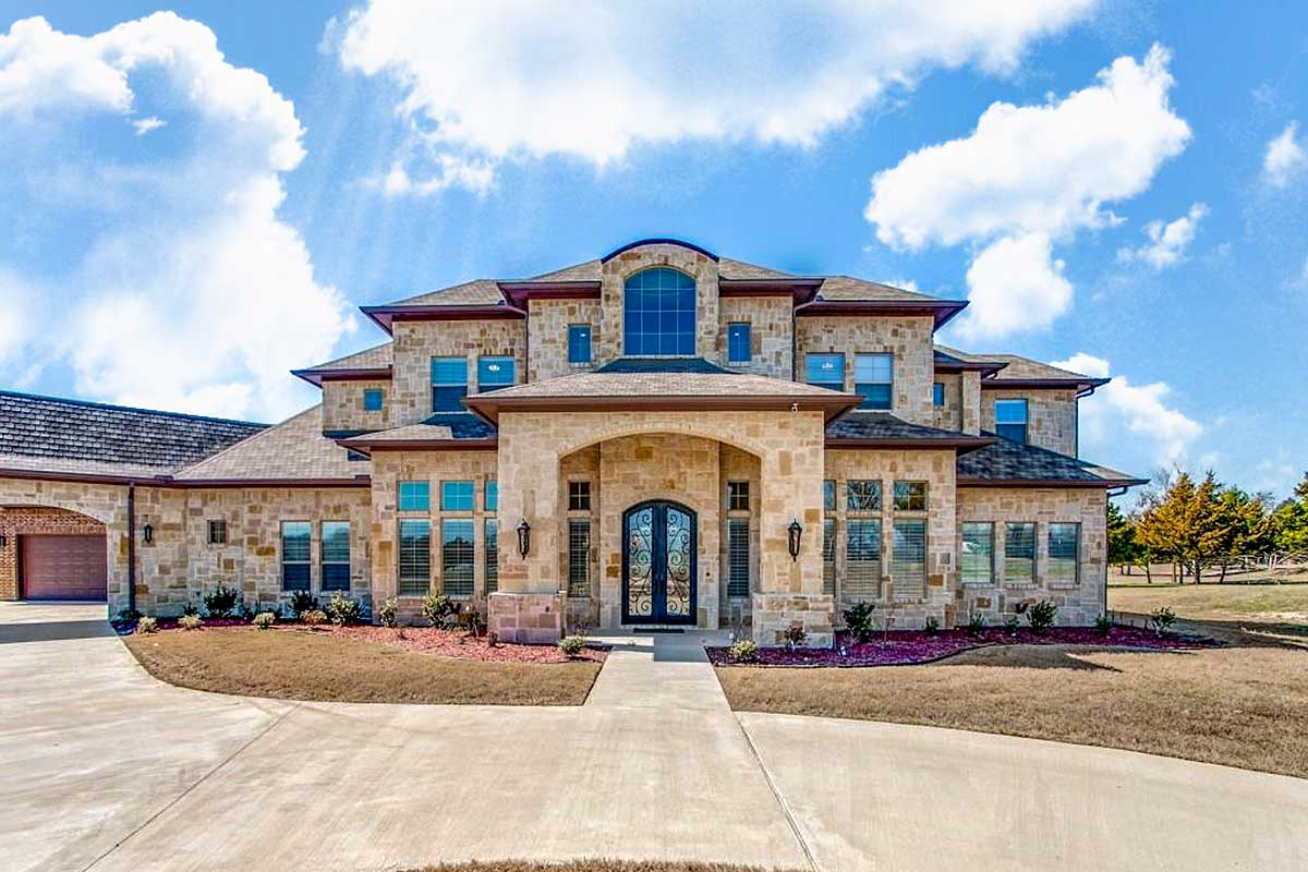 Grand Hill Country House Plan - 36548TX | Architectural ...