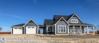 Exclusive Modern Farmhouse Plan 28925JJ Comes to Life in Texas - photo 001