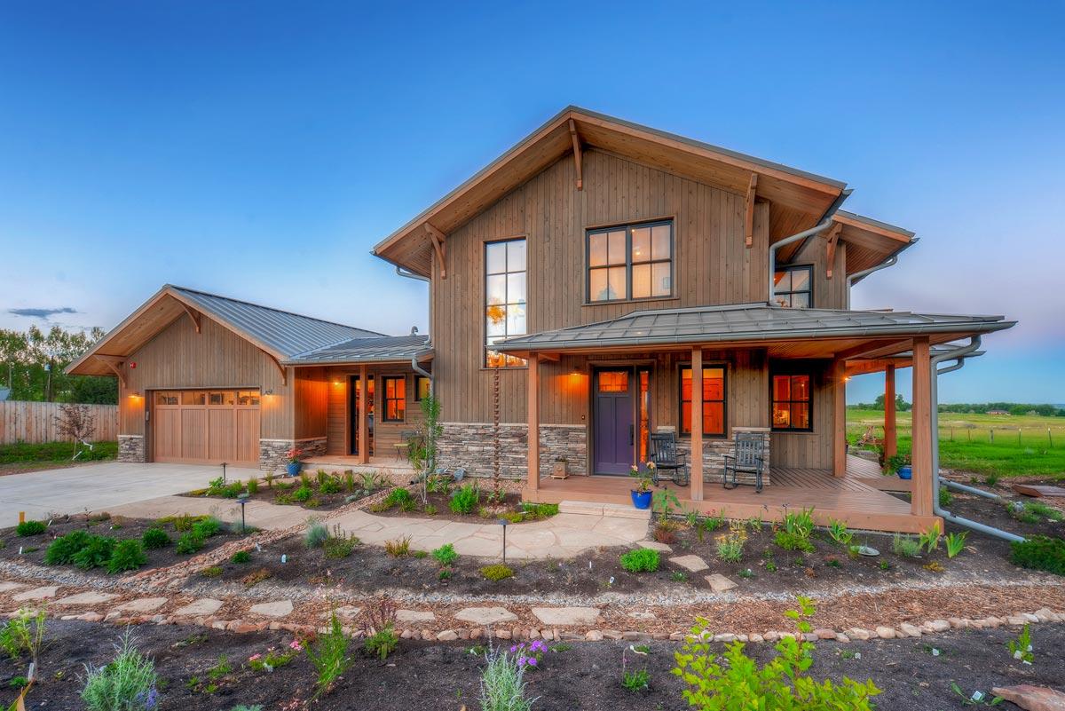 Modern Craftsman Farmhouse with Wrap-Around Porch ...