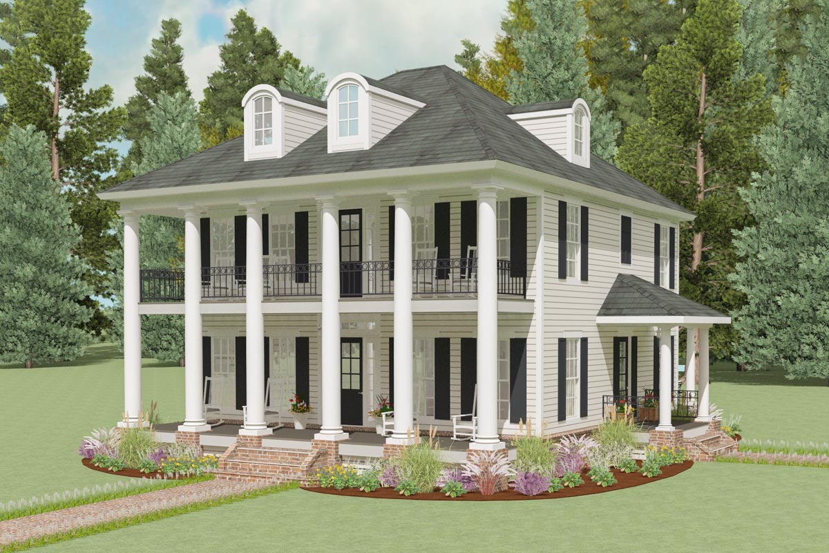 antebellum home plans exclusive mini plantation house plan 130018lls architectural designs house plans 2471