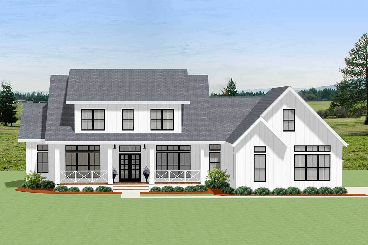 Corner Lot House Plans