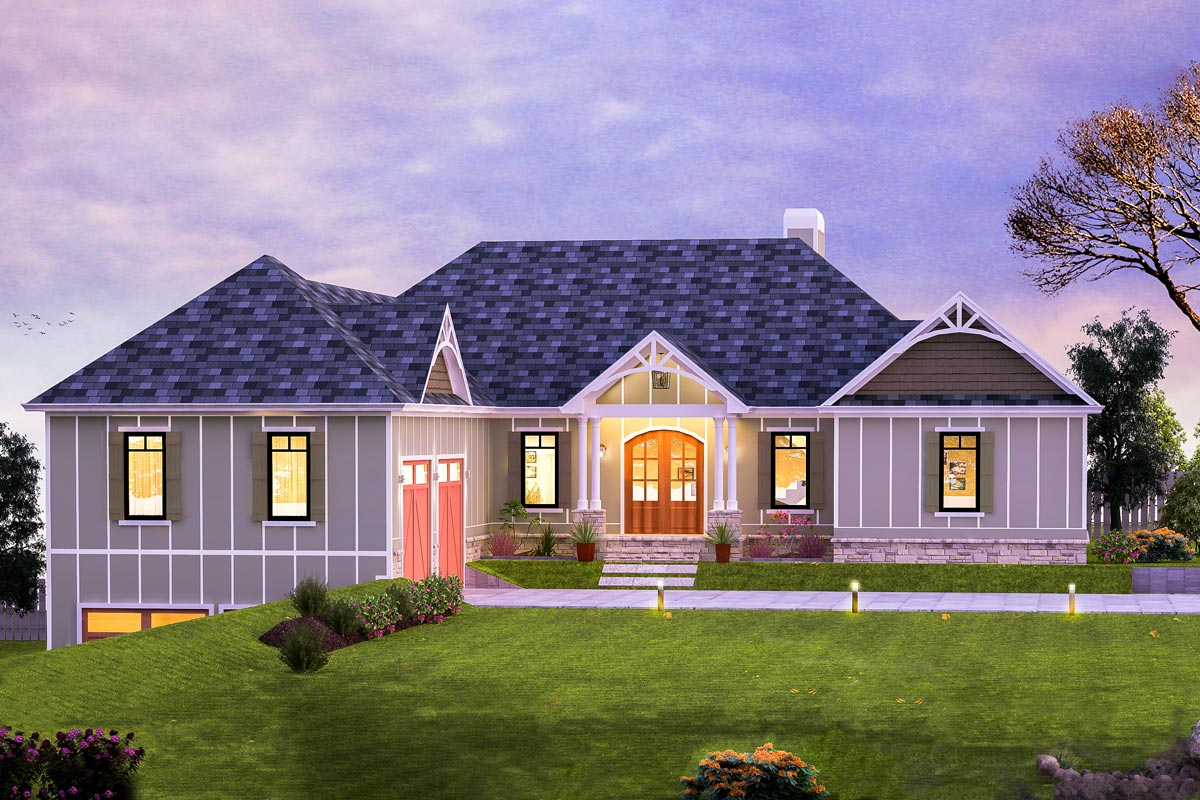 craftsman house plans with basement 4 bed craftsman house plan with walk out basement 24389tw architectural designs house plans 7102