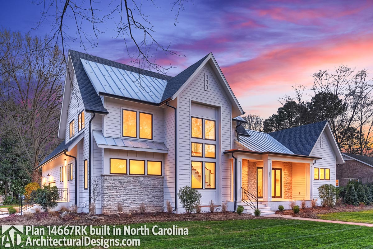 Modern-Meets-Farmhouse with Optional Rear Garage Door to ... on Rk Outdoor Living id=86642