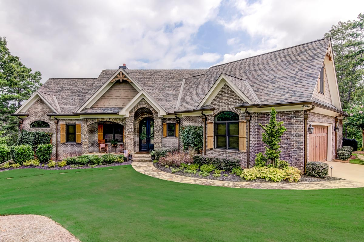 Gorgeous 3-Bed French Country House Plan with Bonus Room ...