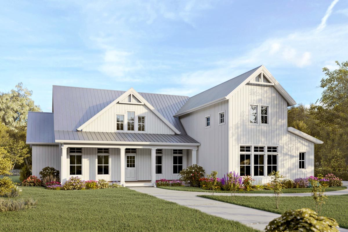 Farmhouse Plans - Architectural Designs