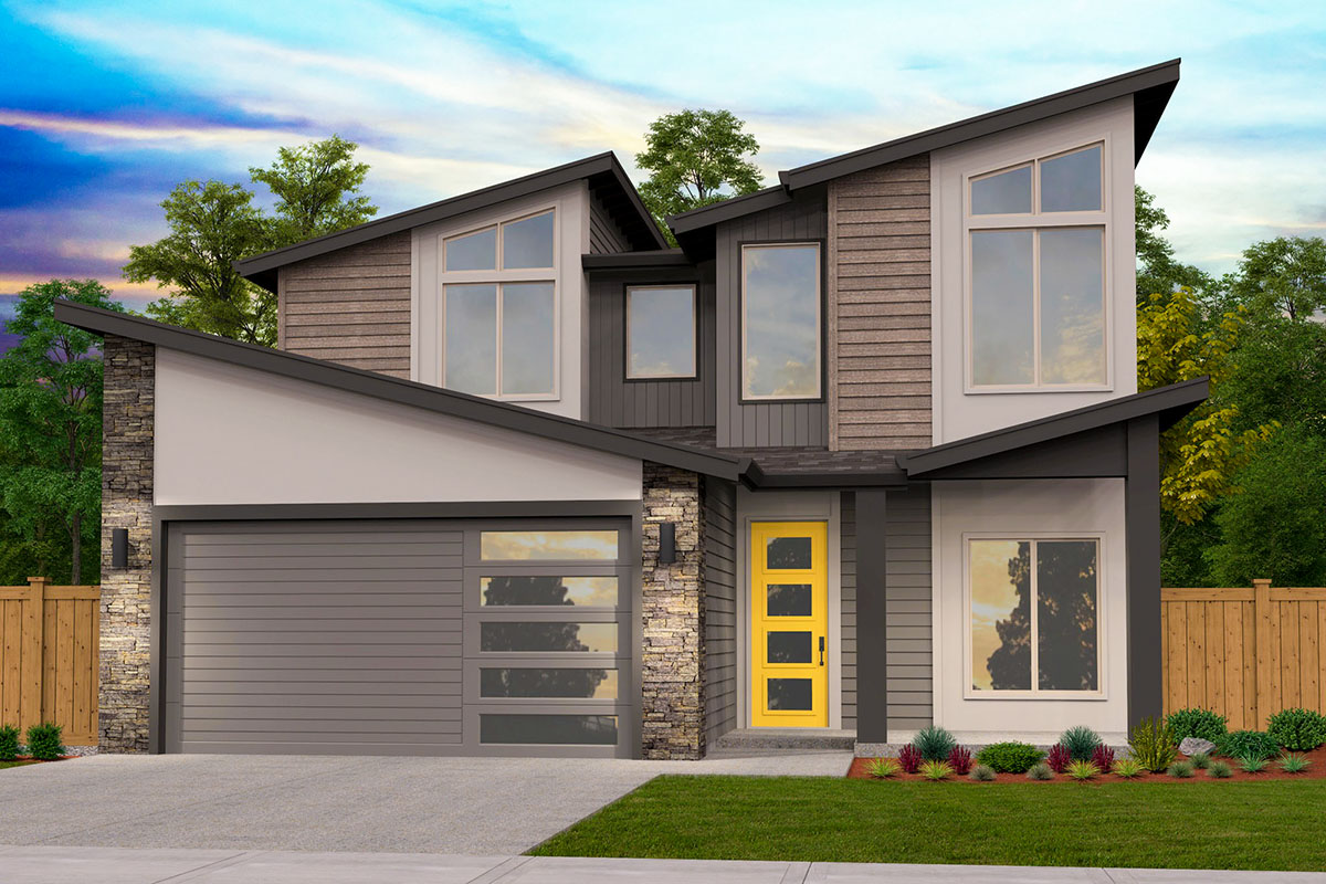 4-Bed Exclusive Modern Home Plan with Open Concept Main ...