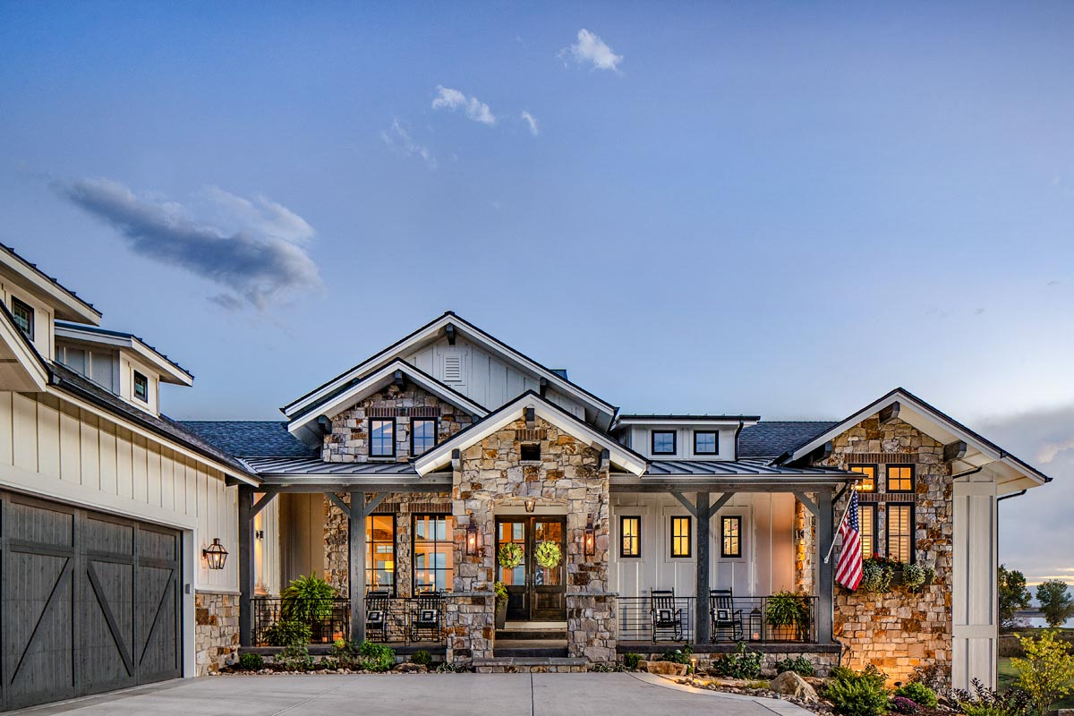new home layouts new american house plan with amazing views to the rear 95058rw architectural designs house 7351