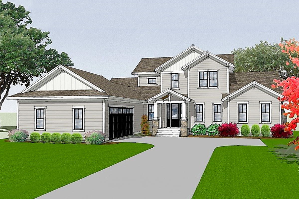 first floor master house plans two story house plan with screen porch and first floor master 15233nc architectural designs 1688