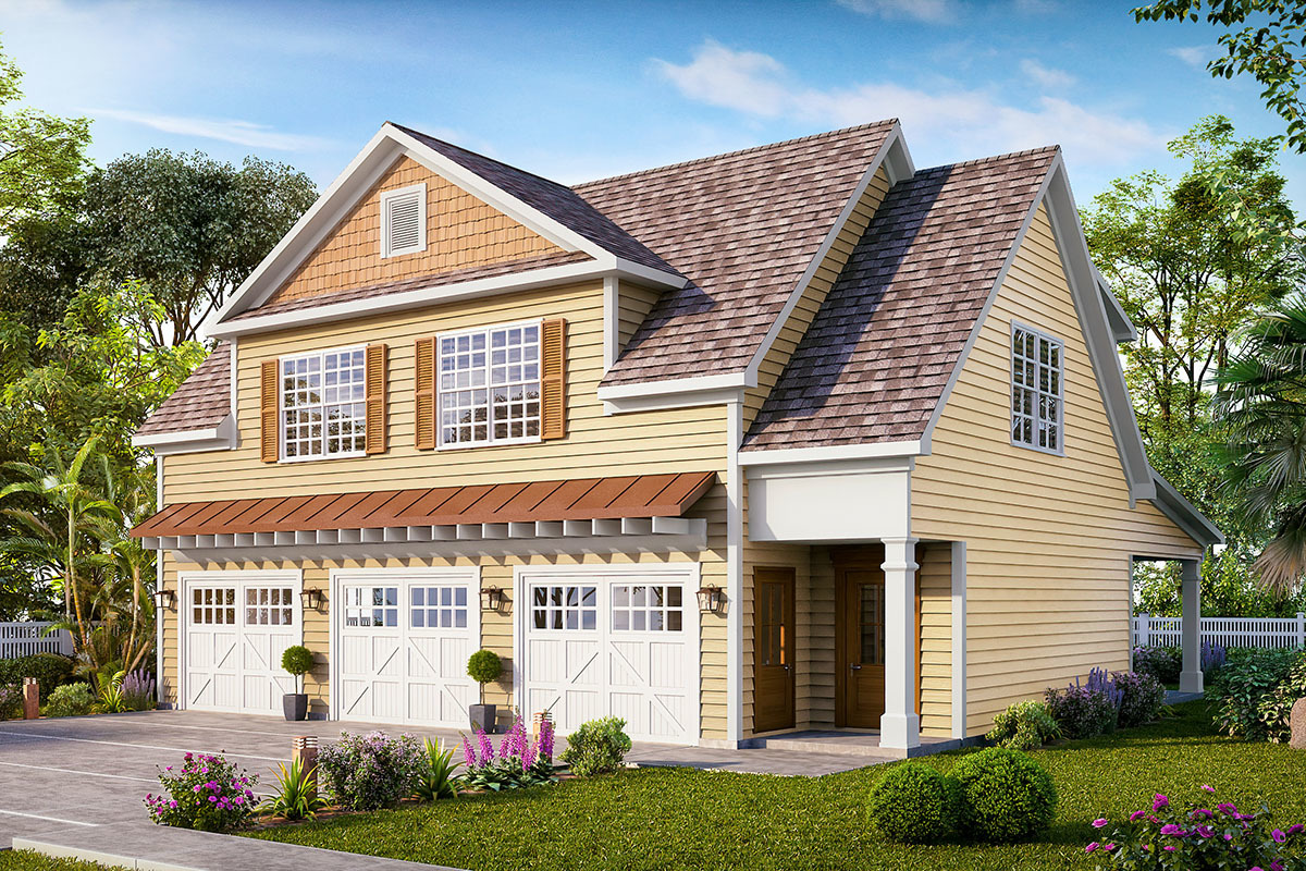 Picture of: Carriage House Plans Architectural Designs