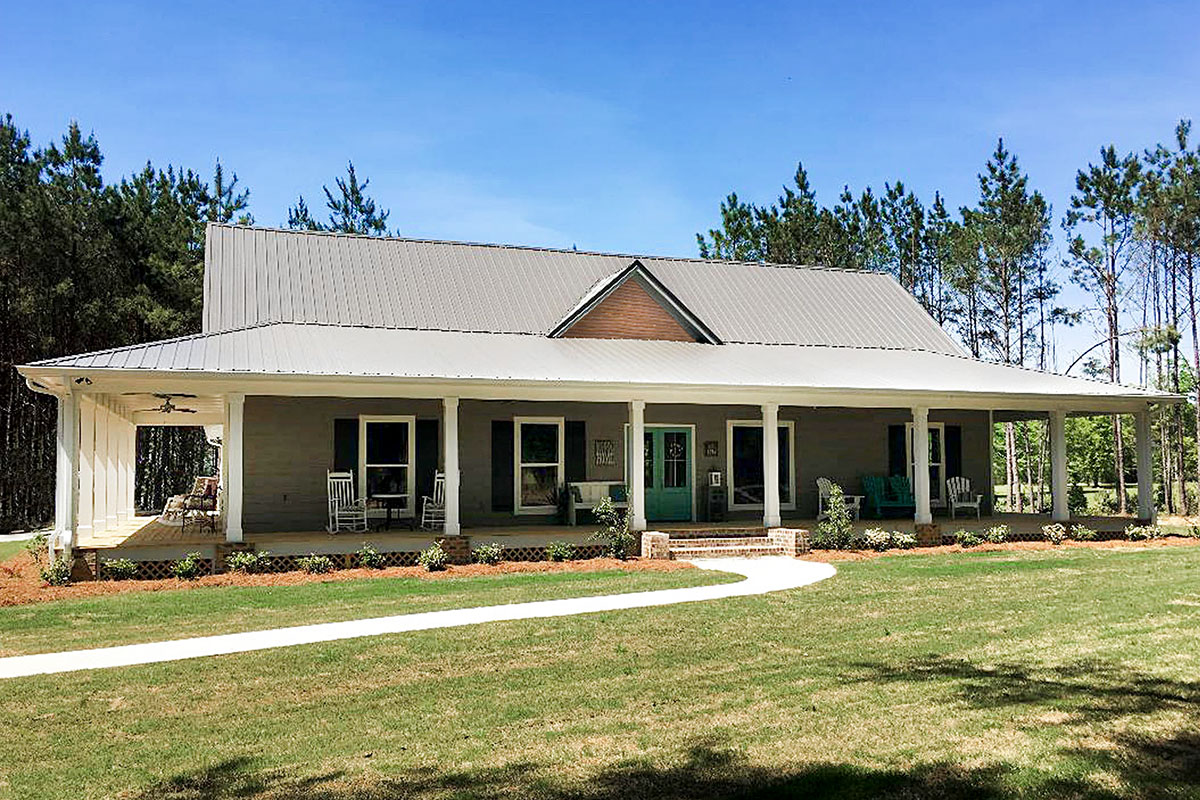 Dreamy Country Cottage with Wrap-Around Porch - 83918JW   Architectural  Designs - House Plans