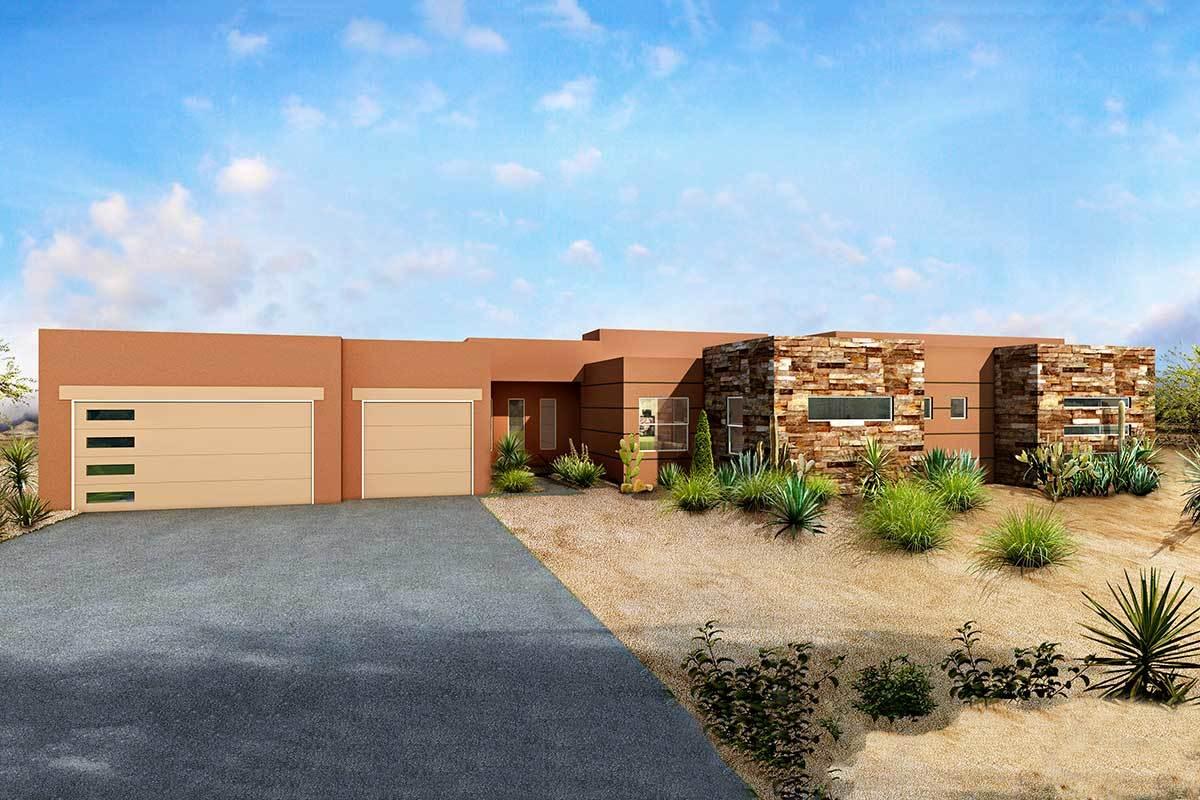 Southwest House Plans Architectural Designs